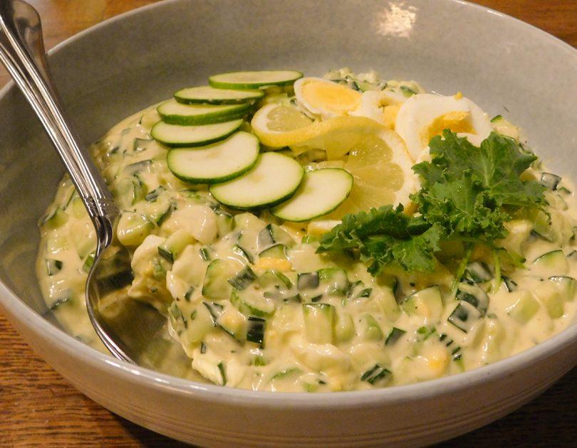 Aardappelsalade zonder Aardappel
