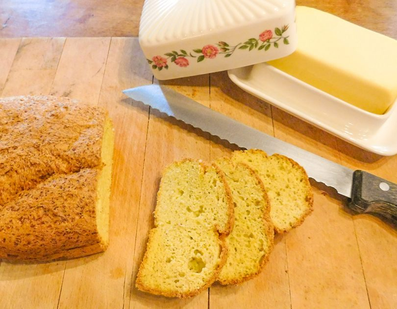 Brood van Kokosmeel