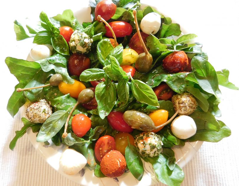 Tomaten Salade met Mozzarella