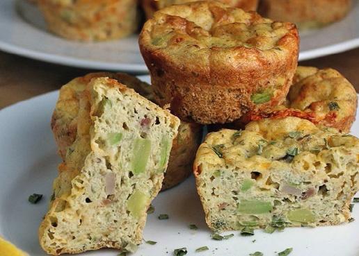 Avocado Spek Muffins