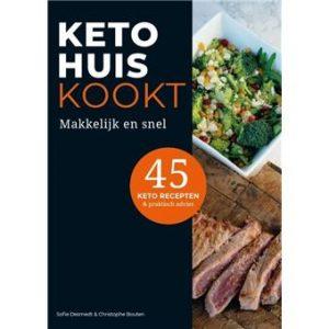 Keto Huis Kooks - Keto voor Beginners - Ketoboeken Ketodieet Receptenboeken - Nederland België