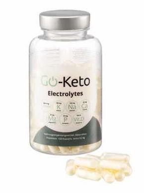 Giveaway : Go-Keto EleKtrolyten (180 capsules) twv EUR 29,90