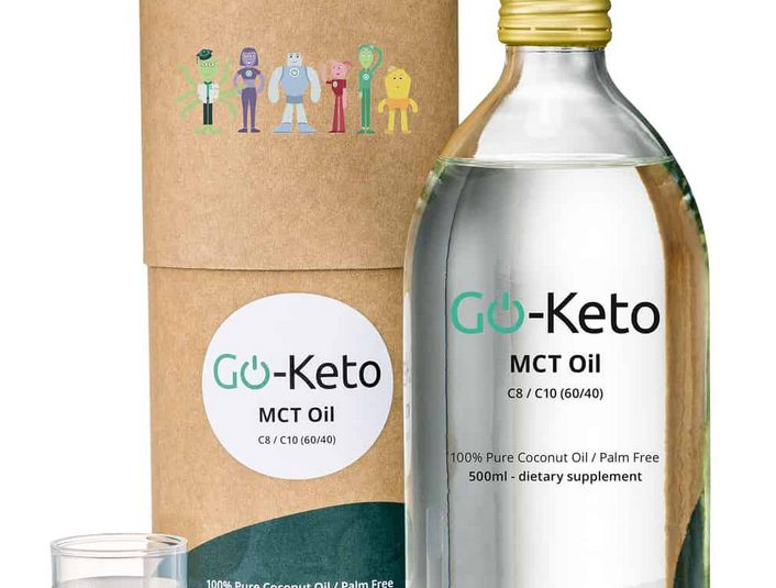 Giveaway : Go-Keto Premium Kokos MCT Olie C8 500ml