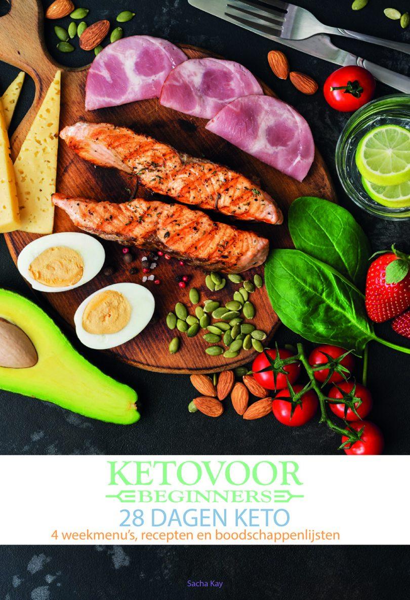 Keto voor Beginners – 4 Weekmenu's incl Recepten en Boodschappenlijsten + Keto Basis Informatie voor EUR 4,95
